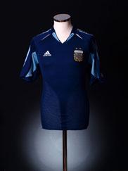 2004-05 Argentina Away Shirt M