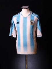 2004-05 Argentina Home Shirt *As New* L