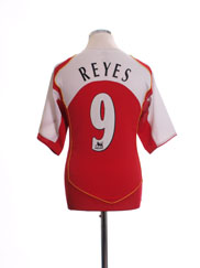 2004-05 Arsenal Home Shirt Reyes #9 M