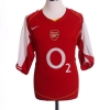 2004-05 Arsenal Home Shirt Reyes #9 L