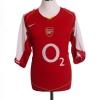 2004-05 Arsenal Home Shirt Vieira #4 XL