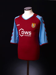 2004-05 Aston Villa Home Shirt XXL
