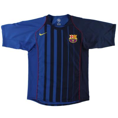 2004-05 Barcelona Nike Away Shirt S