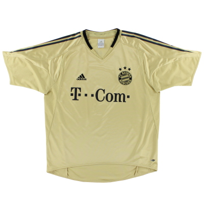2004-05 Bayern Munich Away Shirt *Mint* XL