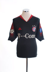 2004-05 Bayern Munich Champions League Shirt *Mint* L