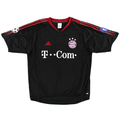 2004-05 Bayern Munich Champions League Shirt S