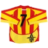 2004-05 Benevento Match Issue Home Shirt #7 L/S L