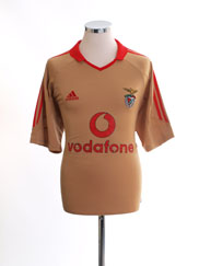 2004-05 Benfica Centenary Third Shirt M