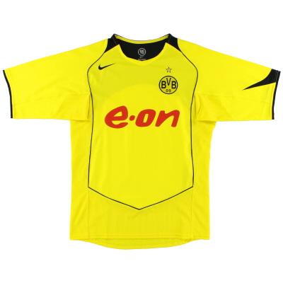 2004-05 Borussia Dortmund Nike Home Shirt XXL