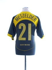 2004-05 Borussia Dortmund Third Shirt Metzelder #21 M