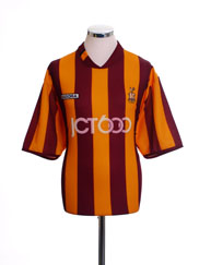 2004-05 Bradford City Home Shirt M