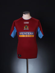 2004-05 Burnley Home Shirt S
