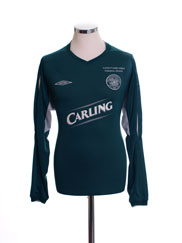 2004-05 Celtic Away Shirt L/S L