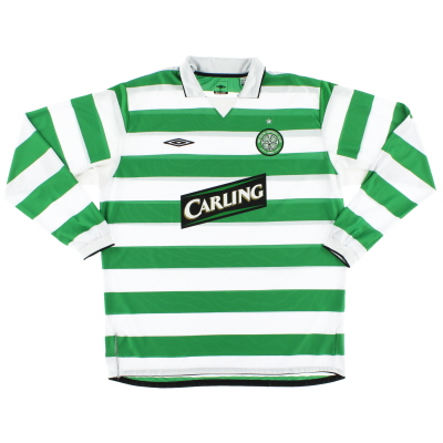 2004-05 Celtic Home Shirt L/S *Mint* XXL