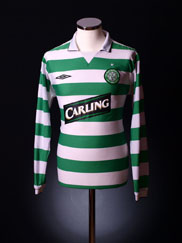 2004-05 Celtic Home Shirt L/S L