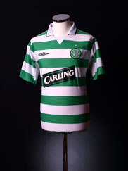 2004-05 Celtic Home Shirt S.Boys