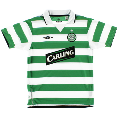 2004-05 Celtic Home Shirt M.Boys