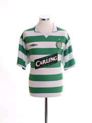 2004-05 Celtic Home Shirt L