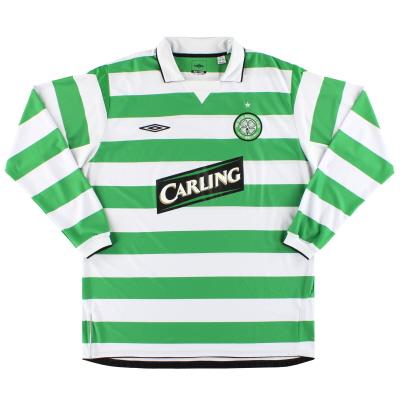 2004-05 Celtic Umbro Home Shirt L/S XL