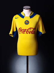 2004-05 Club America Home Shirt S