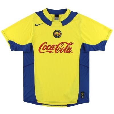2004-05 Club America Nike Home Shirt *Mint* XL