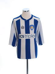 2004-05 Colchester United Home Shirt XL