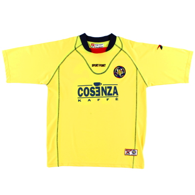 2004-05 Cosenza Away Shirt #16 XL