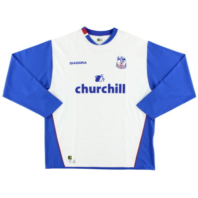 2004-05 Crystal Palace Away Shirt L/S XXL