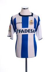 2004-05 Deportivo Home Shirt L
