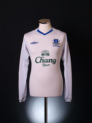 2004-05 Everton Away Shirt *Mint* L/S M