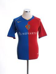 2004-05 FC Basel Home Shirt *Mint* XXL