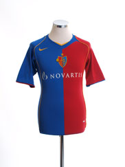 2004-05 FC Basel Home Shirt XS
