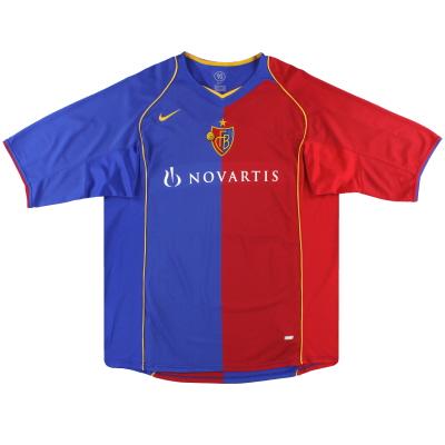 2004-05 FC Basel Nike Home Shirt *Mint* XXL