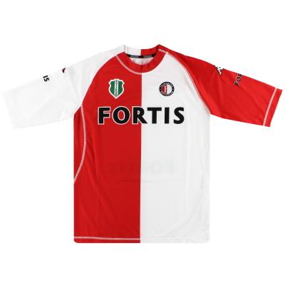 2004-05 Feyenoord Kappa Home Shirt XXL