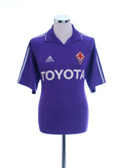 2004-05 Fiorentina Home Shirt L