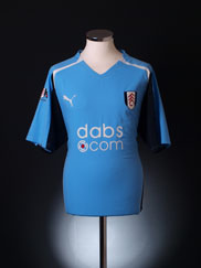 2004-05 Fulham '125 Years' Away Shirt XL