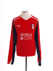 2004-05 Fulham Third Shirt L/S *Mint* L