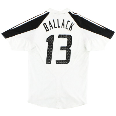 2004-05 Germany Home Shirt Ballack #13 XL