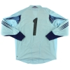 2004-05 Germany Player Issue Goalkeeper Shirt #1 XL