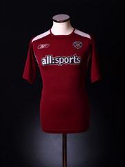 2004-05 Hearts Home Shirt M