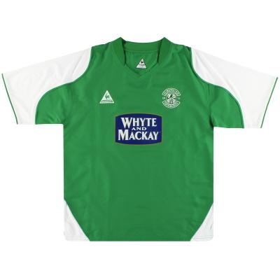 2004-05 Hibernian Le Coq Sportif Home Shirt M