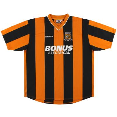 2004-05 Hull City Diadora Centenary Home Shirt *Mint* XXL