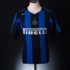 2004-05 Inter Milan Home Shirt Martins #30 XL