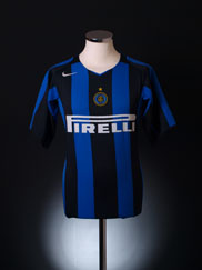2004-05 Inter Milan Home Shirt XL