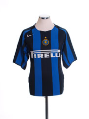 2004-05 Inter Milan Home Shirt *Mint* L