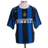 2004-05 Inter Milan Home Shirt Adriano #10 XL.Boys