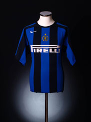 2004-05 Inter Milan Home Shirt L.Boys