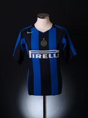 2004-05 Inter Milan Home Shirt L