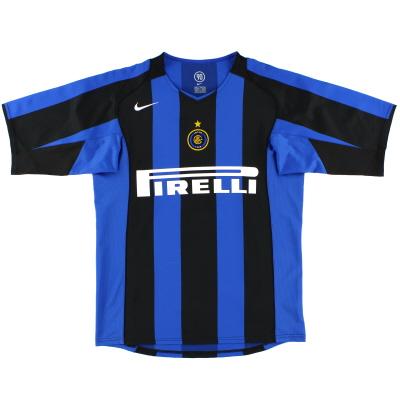 2004-05 Inter Milan Nike Home Shirt M