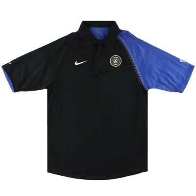 2004-05 Inter Milan Nike Polo Shirt M